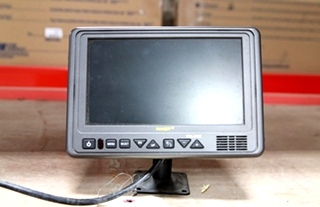 USED VOYAGER 7 INCH LCD COLOR RV/MOTORHOME MONITOR MODEL: AOM711