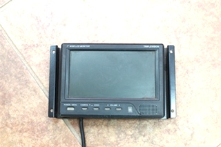 USED RV/MOTORHOME 7 IN. BACKUP MONITOR - TRIPLEVISION INCLUDES HARNESS & MOUNT