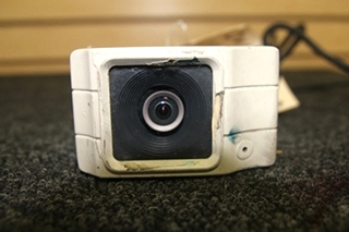 USED RV/MOTORHOME HITRON SYSTEMS INC. BACKUP CAMERA BLACK & WHITE 12V MODEL: CBW-2 SN: 6020012