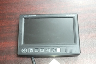 USED TRIPLEVISION 7 INCH WIDE LCD COLOR MONITOR PN: STM-7000 SN: STCM11120027