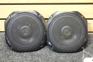 USED MAGNADYNE RV SPEAKERS | SET OF 2 WITH COVERS PN: LS522D