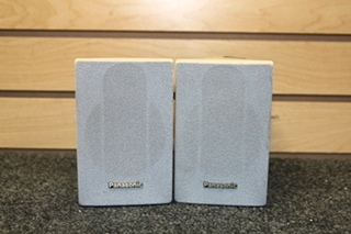 SET OF 2 USED PANASONIC SURROUND SOUND WIRED SPEAKERS