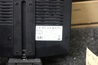 USED RV BACKUP LCD MONITOR  MODEL: CH-LCD-56DHB SIZE: 5.6 IN.