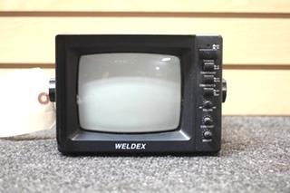 USED WELDEX RV/MOTORHOME BACK UP MONITOR SIZE: 5.5 IN. MODEL: WDRV-3005M SN: 101516