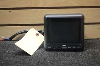 USED RV/MOTORHOME CLARION BACKUP MONITOR PN: CJ-750E SN: 015221