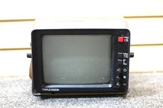 USED RV/MOTORHOME TRIPLEVISION BACKUP MONITOR PN: M-70 (M70) SN: M0502057TH