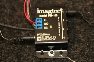 USED RV/MOTORHOME BUFFALO INFRARED CONTROL BLOCK & REPEATER IR-100 & IR-350