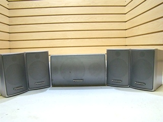 PANASONIC 5PC SPEAKER SET (SILVER)