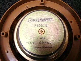 USED RV/MOTORHOME 6 INCH MAGNADYNE SPEAKERS FOR SALE