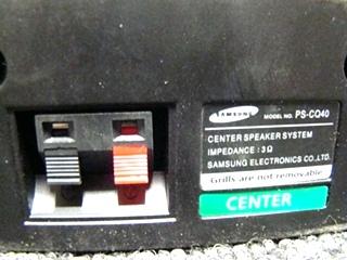 USED RV/MOTORHOME 3 PC. SAMSUNG SPEAKER SET (BLACK) FOR SALE