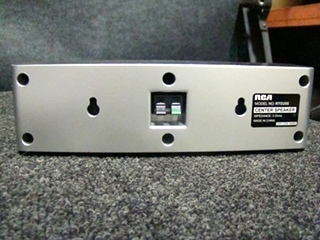 USED RV/MOTORHOME RCA 5 PC SPEAKER SET W/SUB (SILVER)
