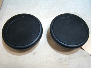 USED RV/MOTORHOME SET OF 2 AUDIOVOX SPEAKERS (BLACK)