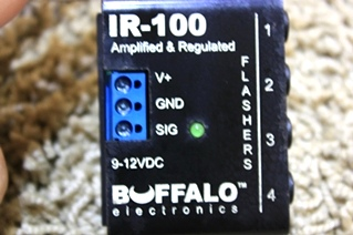 USED BUFFALO ELECTRONICS AMPLIFIED & REGULATED IR-100 FOR SALE