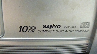 USED RV/MOTORHOME EXCEDIO COMPACT 10 DISC CD CHANGER FOR SALE