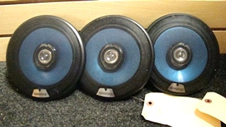 USED RV/MOTORHOME SET OF 3 KENWOOD SPEAKERS FOR SALE