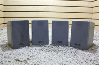 USED SET OF 4 PANASONIC SPEAKERS FOR SALE