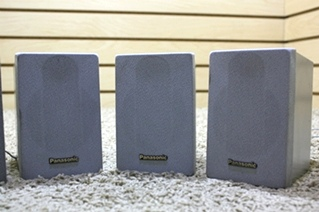 USED SET OF 4 PANASONIC SPEAKERS FOR SALE