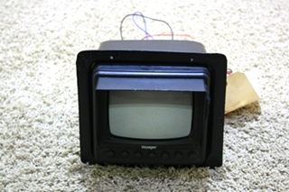USED VOYAGER MOTORHOME BACK UP MONITOR AOM-53 RV ELECTRONICS FOR SALE