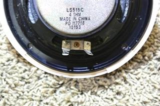 USED MAGNADYNE 2 PIECE CREAM SPEAKER SET LS515C RV PARTS FOR SALE