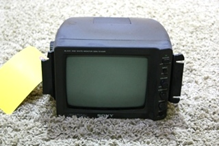 USED MOTORHOME SONY BLACK AND WHITE MONITOR SSM-721AMR FOR SALE