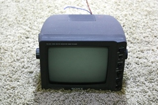 USED SONY BLACK AND WHITE SSM-721AMR MONITOR MOTORHOME ELECTRONICS FOR SALE