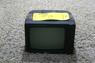 USED MOTORHOME BLACK & WHITE SSM-721AMR SONY MONITOR FOR SALE