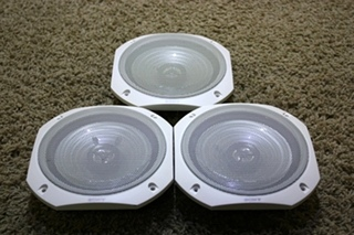 USED SET OF 3 SONY XS-T1641 2WAY SPEAKERS RV ELECTRONICS FOR SALE