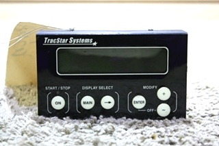 USED RV TRACSTAR SYSTEMS TOUCH PAD FOR SALE