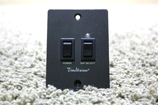 USED RV TRACVISION SATELLITE SWITCHES 02-1236-01 FOR SALE