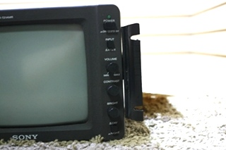 USED SONY BLACK & WHITE SSM-721AMR MONITOR MOTORHOME PARTS FOR SALE