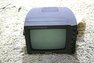 USED RV SSM-721AMR SONY BLACK AND WHITE MONITOR FOR SALE