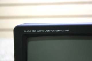 USED SONY SSM-721AMR BLACK AND WHITE MONITOR RV PARTS FOR SALE