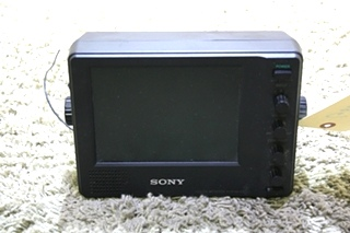 USED RV VCB-MHD1 SONY COLOR MONITOR FOR SALE