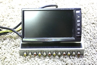 USED ALPINE 6.5 INCH WIDE COLOR LCD MONITOR TME-M760 RV PARTS FOR SALE