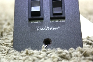 USED MOTORHOME TRACVISION SATELLITE SWITCH PANEL FOR SALE