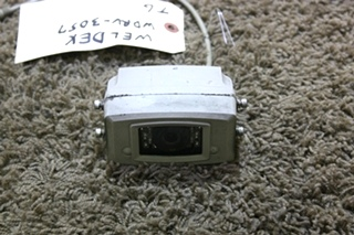 USED WELDEX B/W OUTDOOR CAMERA WDRV-3057 MOTORHOME PARTS FOR SALE