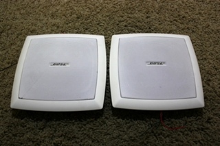 USED SET OF 2 BOSE SPEAKERS MOTORHOME ELECTRONICS FOR SALE