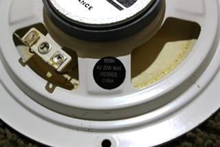 USED MOTORHOME 6 INCH WHITE ADVANTZ SPEAKER FOR SALE