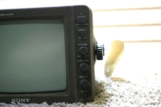 USED SONY SSM-721AMR BLACK AND WHITE REAR VIEW MONITOR RV PARTS FOR SALE