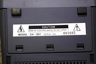 USED RV POLESTAR 5.5 INCH REAR VIEW MONITOR DV-5RV FOR SALE