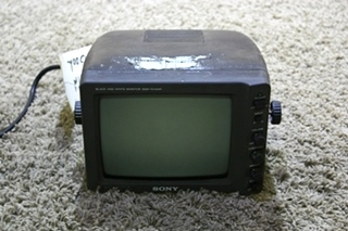 USED SSM-721AMR SONY BLACK AND WHITE MONITOR RV ELECTRONICS FOR SALE