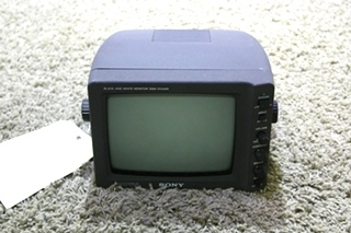USED RV SSM-721AMR SONY BLACK & WHITE MONITOR FOR SALE