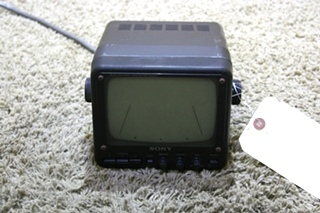 USED MOTORHOME SONY BLACK & WHITE SSM-620AM MONITOR FOR SALE