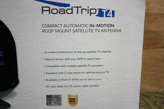 RV WINEGARD ROADTRIP T4 RT2035T IN MOTION SATELLITE TV ANTENNA FOR SALE