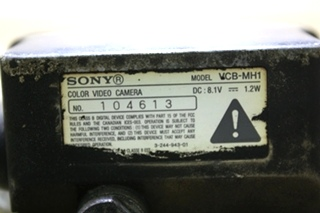 USED VCB-MH1 SONY COLOR VIDEO CAMERA RV ELECTRONICS FOR SALE