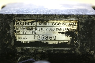 USED SSC-530AM MOTORHOME SONY B/W VIDEO CAMERA FOR SALE