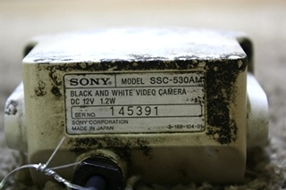 USED RV SONY BLACK AND WHITE SSC-530AM VIDEO CAMERA FOR SALE