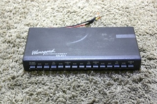 USED MOTORHOME WINEGARD ENTERTAINMENT SELECT TV SWITCH BOX VS-0503/5312 FOR SALE