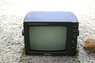 USED SONY SSM-721AMR BLACK AND WHITE MONITOR RV ELECTRONICS FOR SALE