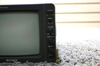 USED RV SONY BLACK AND WHITE MONITOR SSM-721AMR FOR SALE